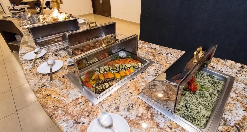 Servicio de Catering, hotel Best Western Las Mercedes, Managua