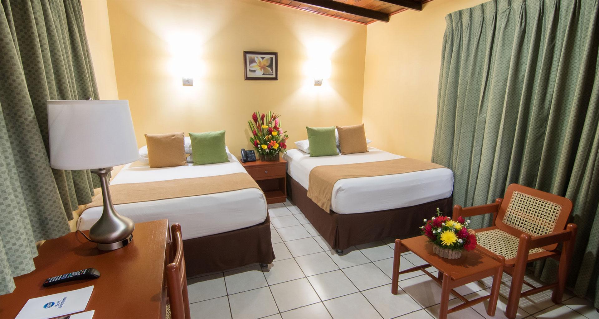 Habitación Doble. Hotel best Western Las Mercedes, Managua