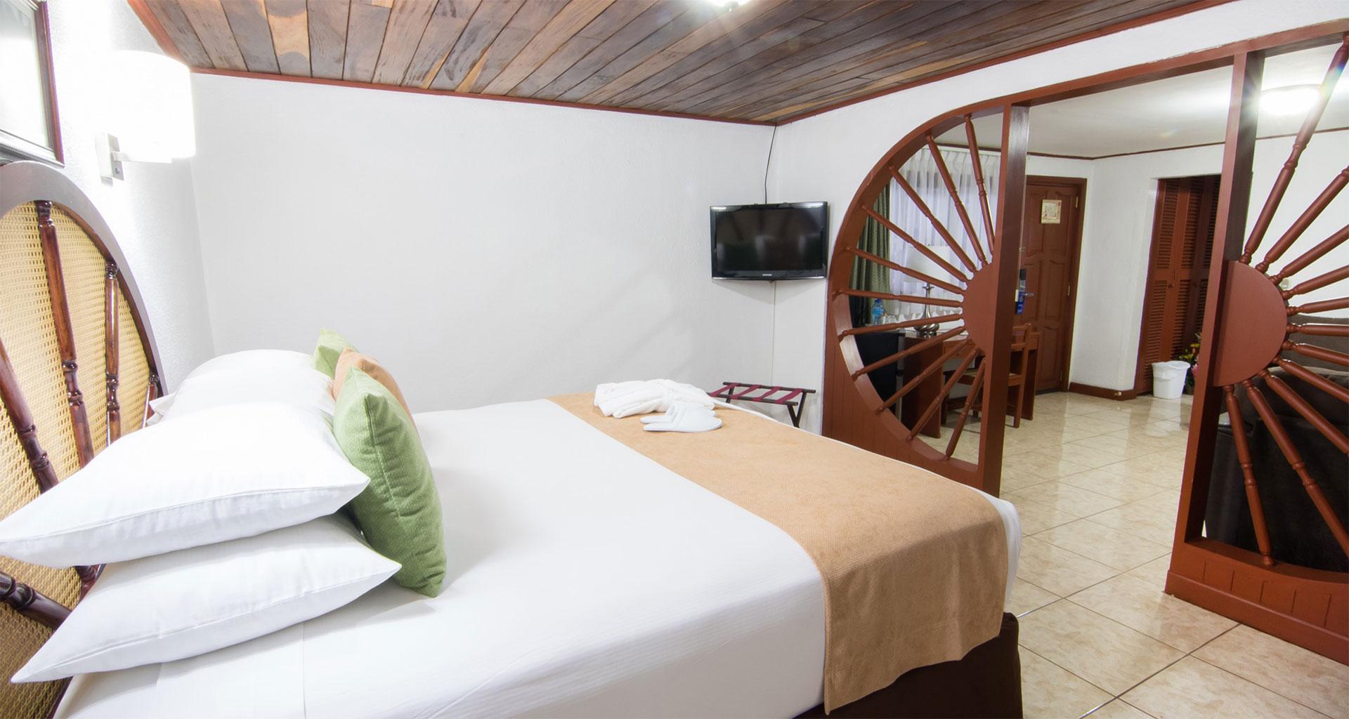 Habitación Suite JR. Hotel best Western Las Mercedes, Managua